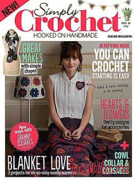 Simply Crochet Issue 1 2013.