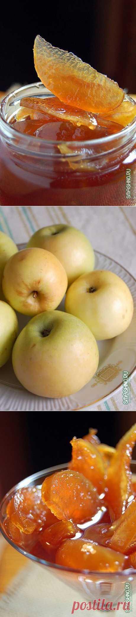 Яблочное варенье, прозрачное и душистое | Хитрости Жизни