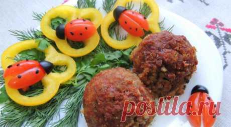 Гречневые тефтели с грибами, пошаговый рецепт с фото