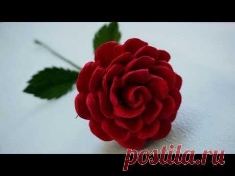 Cómo hacer Rosa (muy facil) - Rosas con una tira de papel / manualidades