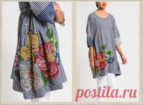 Ручная вышивка в бохо-одежде - идеи для вдохновения | МНЕ ИНТЕРЕСНО | Яндекс Дзен