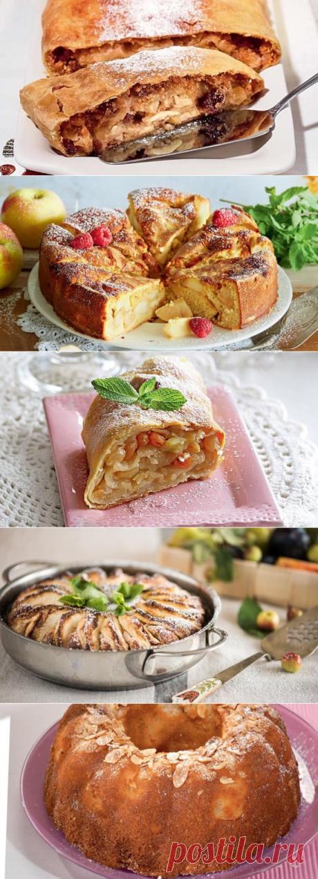 Яблочные пироги - рецепты на Supersadovnik.ru
