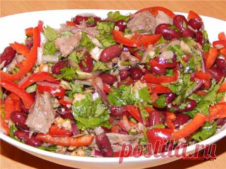 """Салат """"Тбилиси"""" - 4 вкусных и сытных рецепта грузинской кухни."""