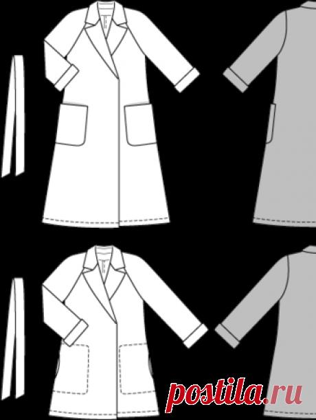 Пальто с рукавами реглан - выкройка № 6900 из журнала 14/2015/2016 Каталог Burda – выкройки пальто на Burdastyle.ru Просматривайте этот и другие пины на доске Выкройки пользователя Анна. Теги Пальто с рукавами-реглан сшито из шерстяной ткани. Воротник-стойка отделан контрастной отделкой. Карманы с листочками расположены по бокам. Спереди расположены два накладных кармана. Манжеты рукавов отделаны оборкой. Модель на подкладке, длина около 91 см. Размеры: 38-52 Вам потребуется: Шерстяная ткань -…