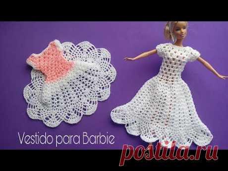 Vestido para Barbie piñas