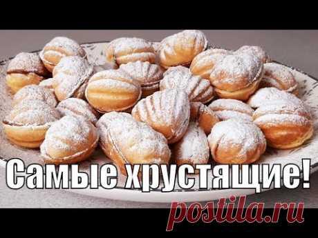 """""""Старинный"""" рецепт теста для хрустящих орешков и Оооочень хрустящих трубочек!"""