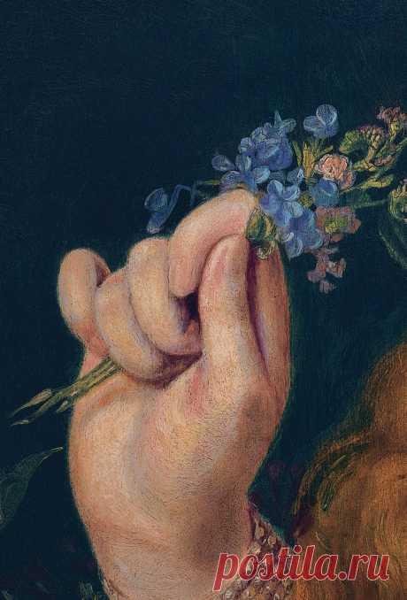 Женские руки на картинах прерафаэлитов