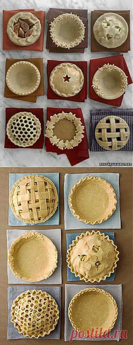 Украсить красиво пирог. Домашняя выпечка..