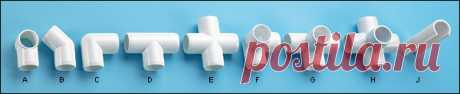 Коннекторы PVC - Инструменты Ли Долины