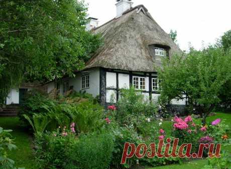 Зизеби- немецкая деревня в скандинавском стиле.