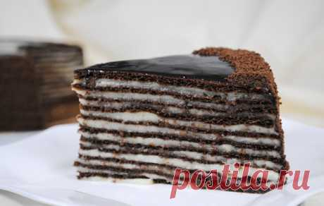 """Шоколадный торт """"Спартак"""""""