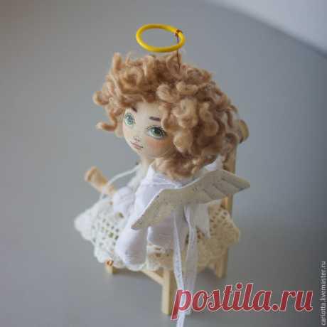 Мастер-класс по текстильной кукле «Ангел Амур» – мастер-класс для начинающих и профессионалов