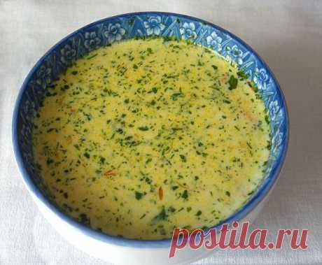 Мега Вкусный Сырный Суп с Креветками.
