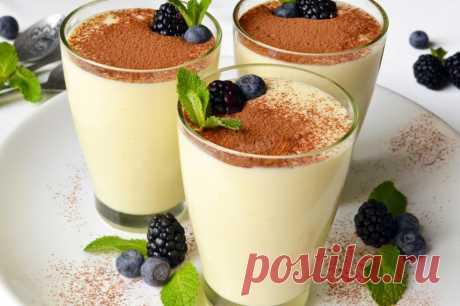 Ванильный крем на молоке и сметане рецепт с фото - 1000.menu
