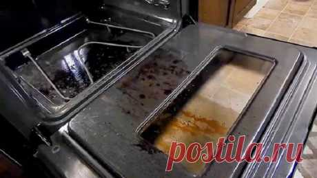 Я научилась идеально чистить духовку парой движений - научу любого делать так