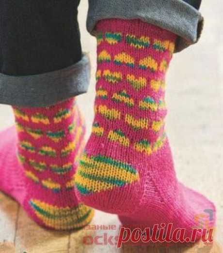 Knitted Mamin socks
