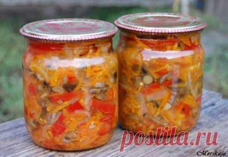 Солянка грибная с капустой на зиму - рецепт с фото / Простые рецепты