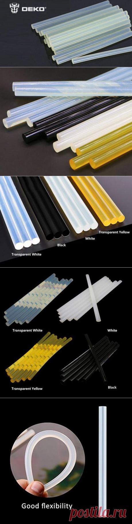 Термоклеевые стержни DEKO GJ119 (7 мм, 11 мм) с Алиэкспресс   Super-Blog