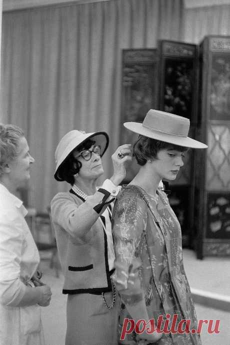 Chanel and Paule Rizzo