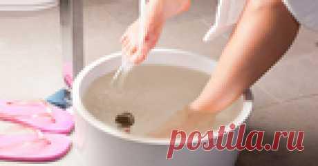 Ванночки для ног - исчезают все болезни!