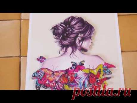 Papertol (papertole) - la técnica de la creación de los cuadros volumétricos por las manos