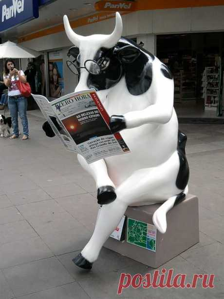 Blog da União: Cow Parede, em Porto Alegre