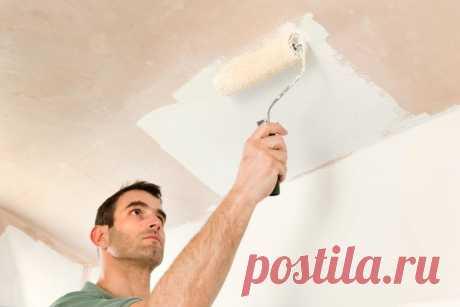 5 практичных советов, как быстро перекрасить потолок в квартире