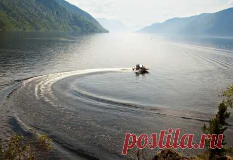 Алтайские легенды: Телецкое озеро
