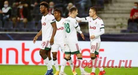 Зальцбург 2 - 2 Локомотив