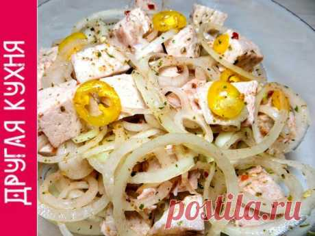 La ensalada-shashlik. Para chupar los dedos por el codo - las recetas Simples Овкусе.ру