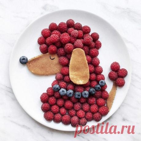 Полезные и красивые завтраки для малышей