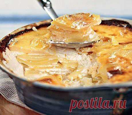 Картофель по-болгарски.