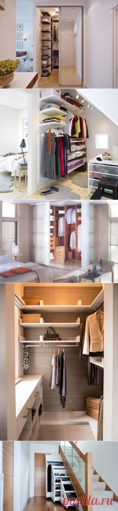 Как сделать гардеробную в коридоре – строим из дерева и старой мебели