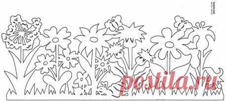 Вырезание из бумаги -шаблоны. | Записи в рубрике Вырезание из бумаги -шаблоны. | Дневник xrun