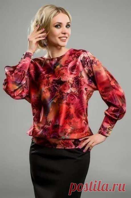Как сшить красивую блузку