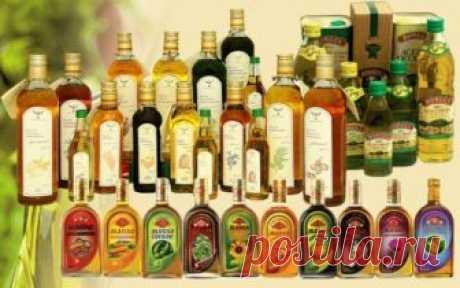 Важная информация о растительных маслах