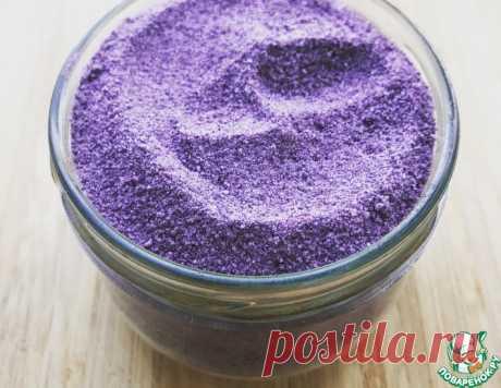 Соль с базиликом и чесноком – кулинарный рецепт