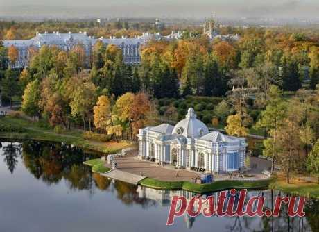 El parque de Catalina en Pushkin, San Petersburgo \/ \u000d\u000aLa fuente: aleksandrpetrosyan.com | Pinterest • el catálogo Mundial de las ideas
