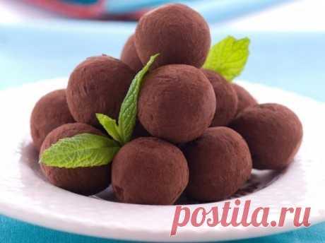 La receta de chocolate tryufeli