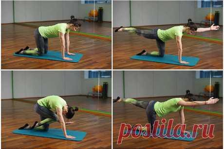 Упражнения, которые снижают аппетит