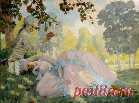Художник Константин Сомов (1869 – 1939). Жеманный мир галантных маскарадов 2Часть