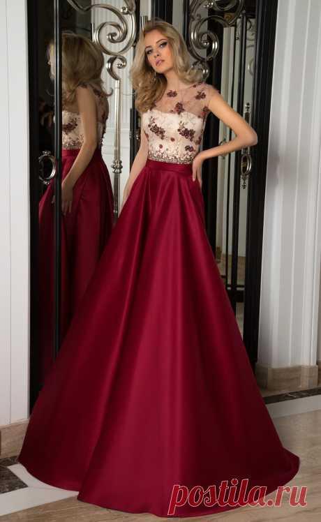 Вечернее платье Oksana Mukha 16-1053 ▶ Свадебный Торговый Центр Вега