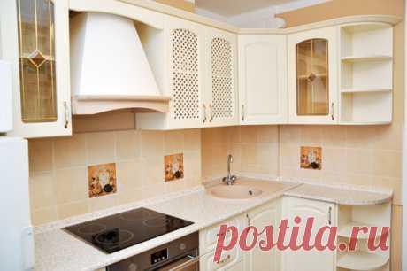 Простая и стильная бежевая кухня — Роскошь и уют