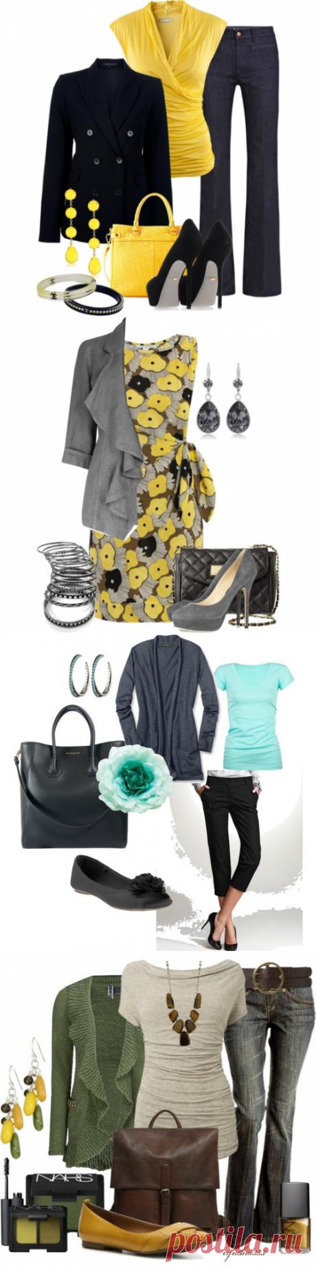 We put on stylishly - 10. Spring clothes