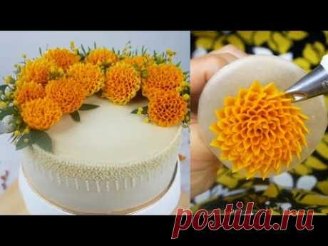 Cake Decoration Technique Flower Cake Style