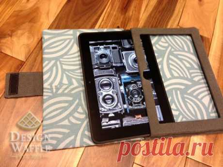 How to Make Your Own Tablet Case   Design Waffle