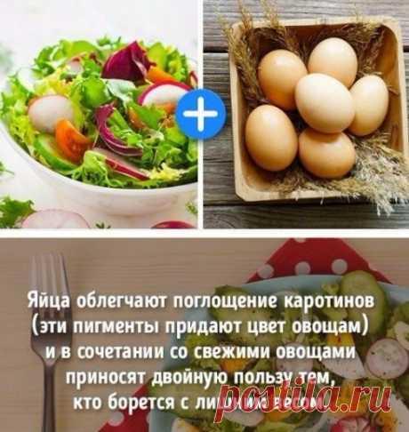 Сочетание продуктов для похудения | Делимся советами