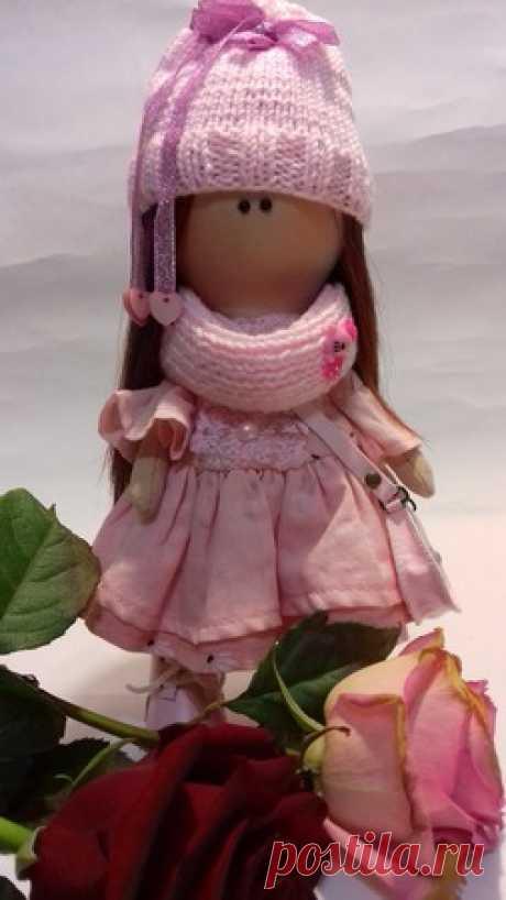 Кукла Розана ручной работы – купить в интернет-магазине HobbyPortal.ru с доставкой