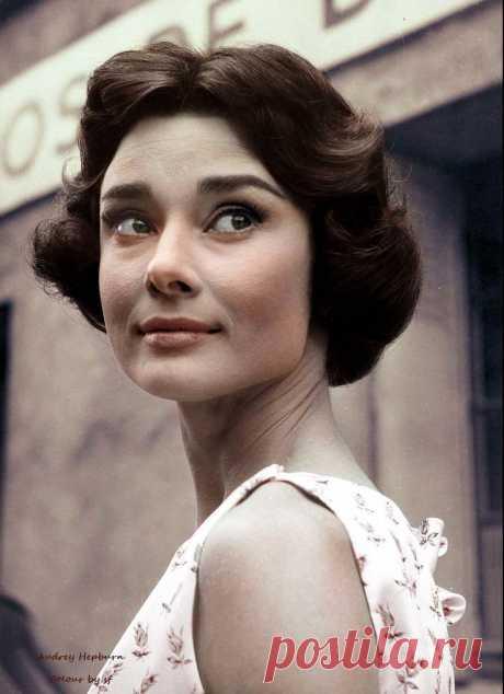 Audrey Hepburn 1950's,
