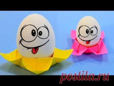 Подставка для яйца, игрушка волчок и коробочка своими руками.